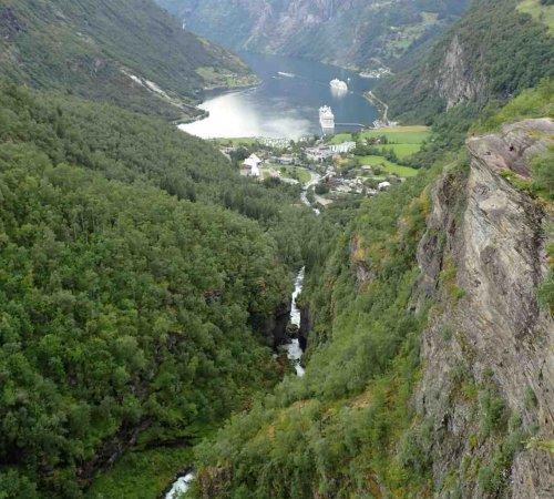 2017-07-29 Dagstur Geirangerfjorden, Norge - Daypaddle Geirangerfjord, Norway