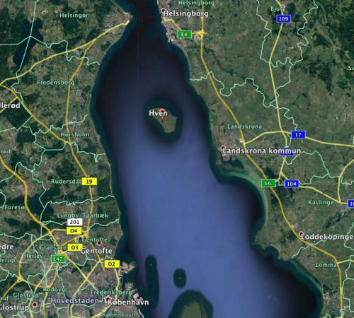 2018-07-07 Dagstur Hven rundt - Day paddle, circumnavigating the Swedish Isle of Hven